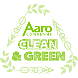 Aaro Companies Clean and Green Environmentally friendly cleaning services